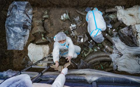 Sanxingdui excavation