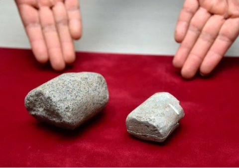 Artifacts newly identified as a decuple weight