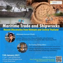 Maritime Trade and Shipwrecks: Recent Discoveries form Vietnam and Central Thailand Abstract Poster