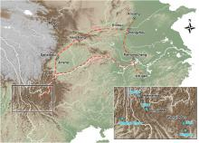 Key archaeological sites from Yunnan to the Central Plains